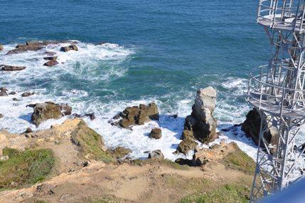 灯台からの景色