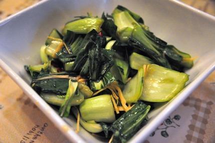 うーらちゃんの青梗菜