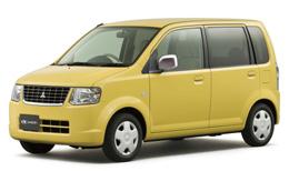 三菱 eKワゴン ジョイフィールド 黄色