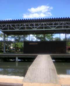 あやめ公園水上ステージ