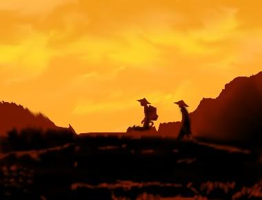 映画「山の郵便配達」観ました