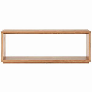 無垢材テーブルベンチ・オーク材 幅120×奥行37.5×高さ44cm