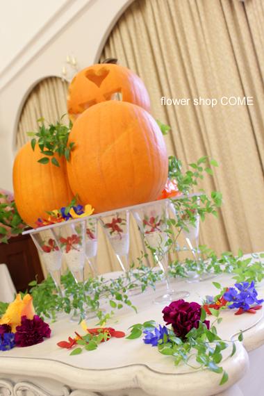 かぼちゃキャンドル2