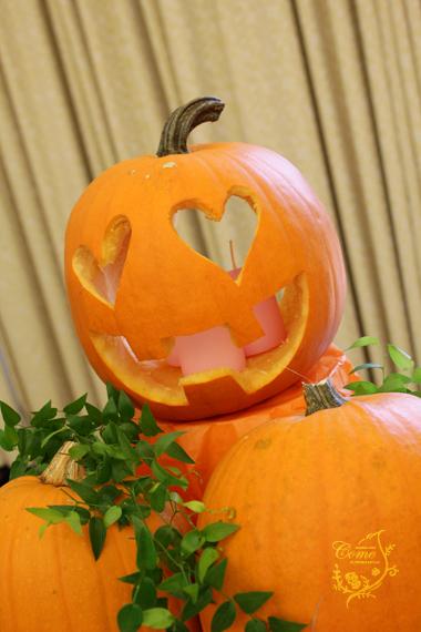 かぼちゃキャンドル