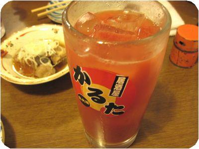 トマトジュース割り