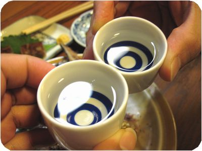 日本酒・乾杯