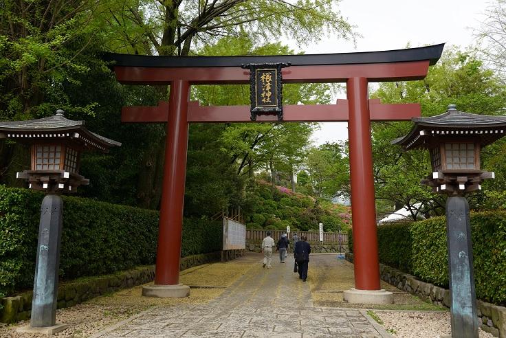 根津神社再訪
