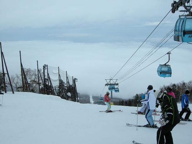 春スキー@安比