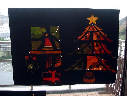 娘の作品「クリスマス」