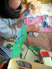 リカちゃん人形とのコラボ