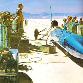 The Blue Flame(「小学館の学習百科図鑑24自動車」より)