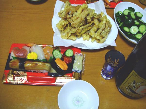 父の日夕食