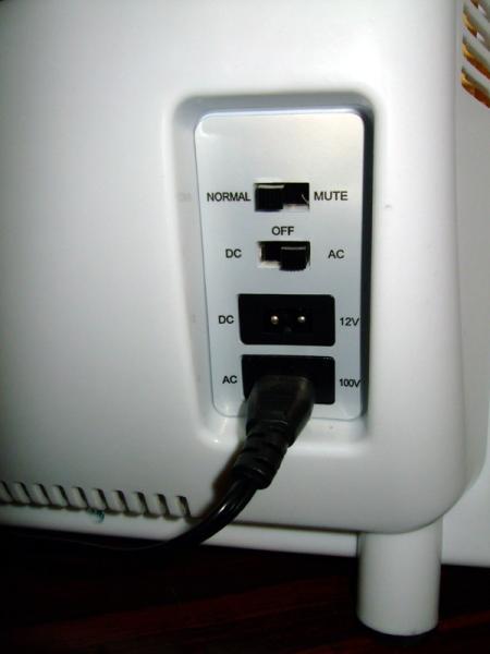 温冷蔵庫電源部
