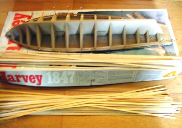帆船模型Harvey02