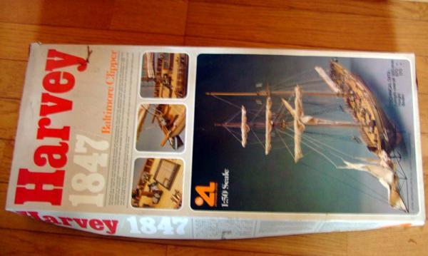 帆船模型Harvey