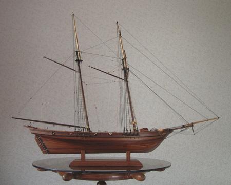 帆船模型Harvey05