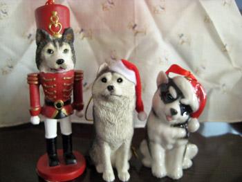 クリスマスハスキーズ