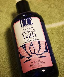 EO Products, Bubble Bath, Rose