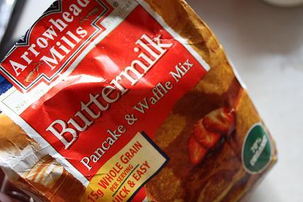 Arrowhead Millsのピーナッツバターとパンケーキミックス2