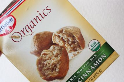 Dr. Oetker, Organics, Organic Muffin Mix, Apple Cinnamon6