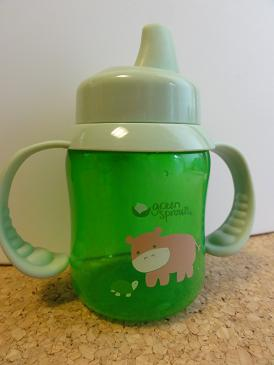 iPlay Inc., Green Sprouts, Non-Spill, Stage 2-4, 3-24 Months, 6 oz 1