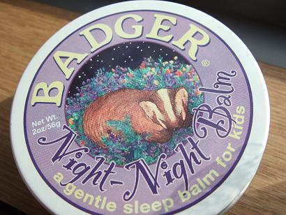 W.S. Badger Company Night-Night Balm