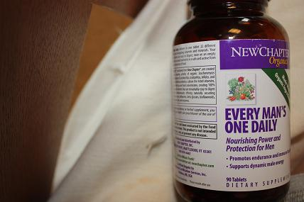 New Chapter, Organics, Every Man's One Daily, 90 Tablets