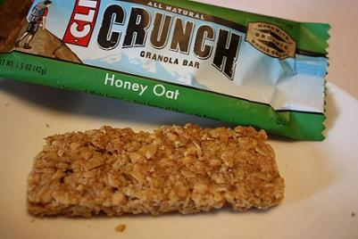 Clif Bar, Crunch Granola Bar, Honey Oat, 10 Bars (5 Two-Bar Pouches), 1.5 oz (42 g) Each 1