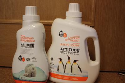Attitude, Laundry Detergent, Essential Oils Ylang Ylang & Tangerine, 60.8 fl oz (1.8 L)