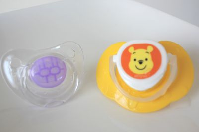 Born Free, Clear Pacifiers, Stage 1, 0-6 Months, 2 Pack 4
