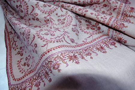 パシュミナ刺繍ショール1
