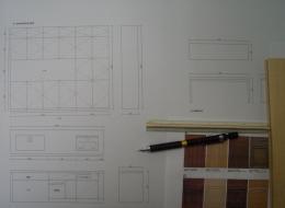 木製キッチンデザイン