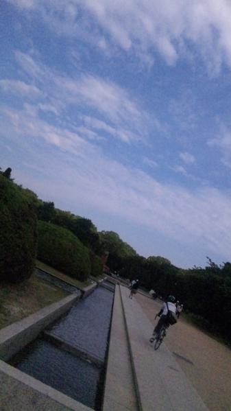 大阪城公園の空