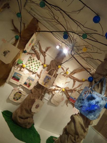 2012ecobagの森 展示風景