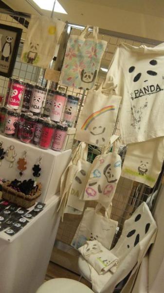 かにゃんコーナー@パンダの雑貨店