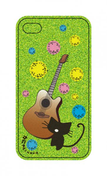 iPhoneケース 春ギター