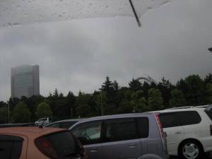 すっげぇ雨!