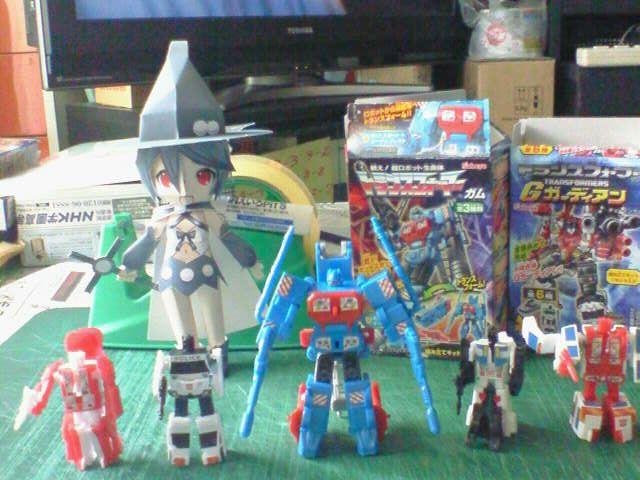 2012/05/13 プロテクトボットロボットモードと並べる