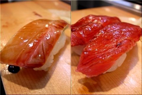魚政 ハマチ 鮪赤身