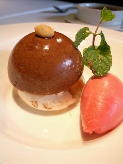オーボナクイユ チョコムース
