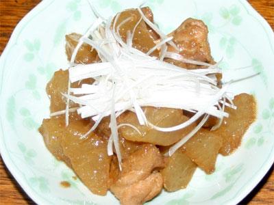 鶏ももと大根の中華風煮物