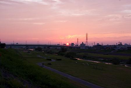 河原の空風景-5