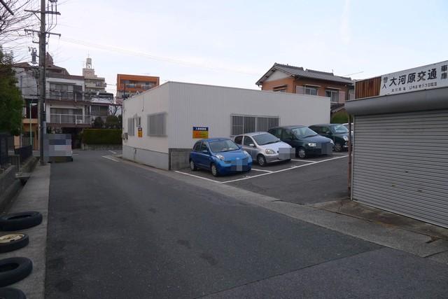 aoiku cafe第2駐車場02