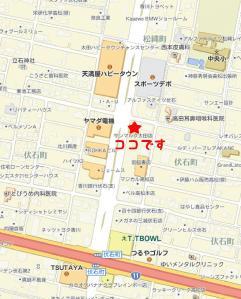 サンマルク太田地図