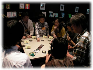 カフェランチゲーム会2009.10.12撮影:2