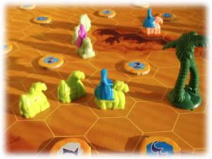 砂漠を越えて:近影