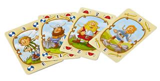 ワイルドバイキング・ボードゲーム:カード
