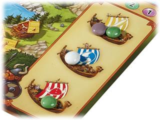 ワイルドバイキング・ボードゲーム:宝石の分配