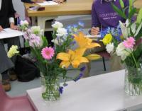 花を描く会