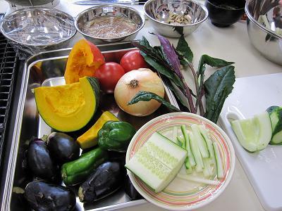 今回使用した加賀野菜です・・・